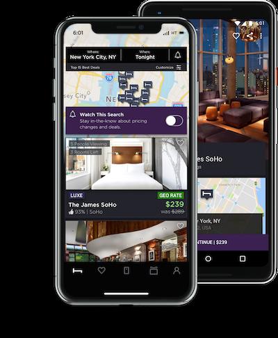 Consigue la app de HotelTonight