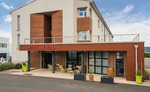 Hotel The Originals Nantes Centre Gare Novella (ex Inter-Hotel)