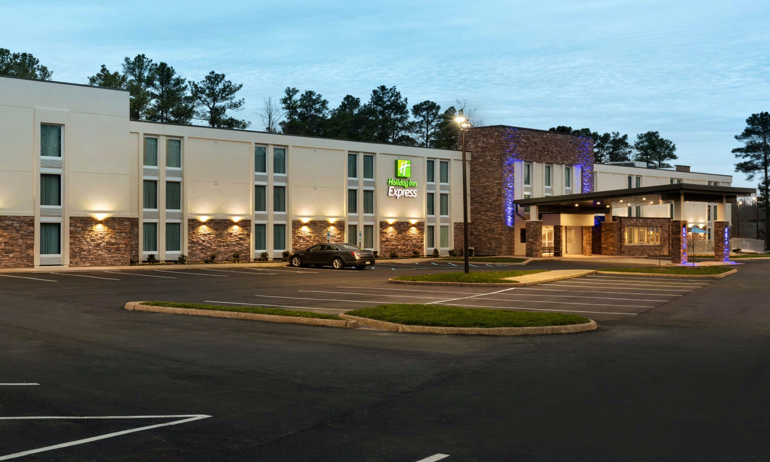 Holiday Inn Express Williamsburg Busch Gardens Area, Williamsburg ...