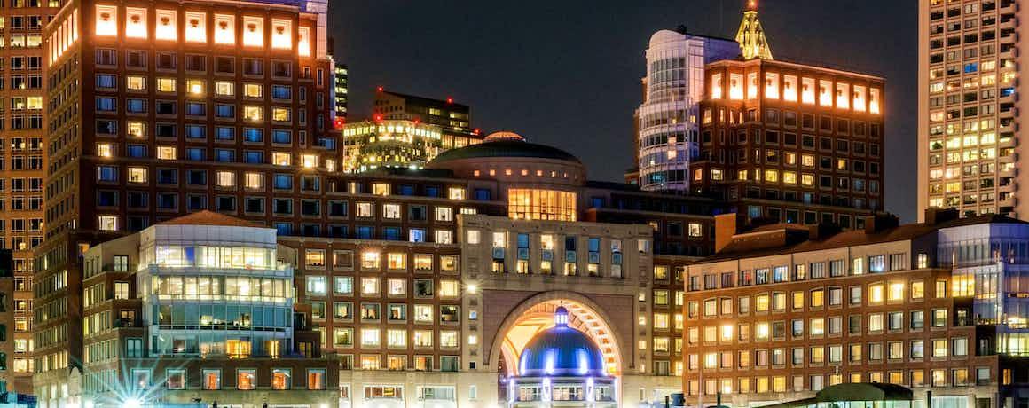 Boston Harbor Hotel - City Suite